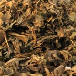 Mariadistelkruid gesneden