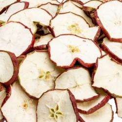 Appel plakjes rood
