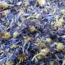 Korenbloemen blauw heel