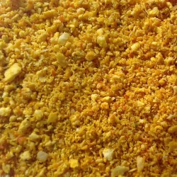 Sinaasappelschil zoet poeder